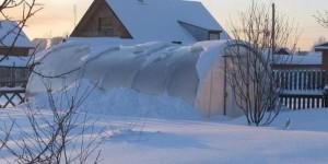 Подготовки теплицы к зимовке