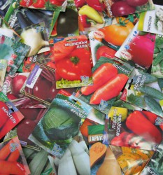Выбор семян по надписям на пакетиках